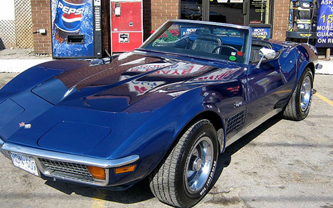 corvette stingray restoration