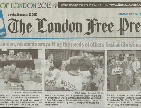 london free press London Knights
